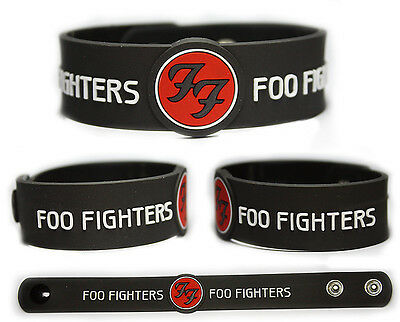 FOO FIGHTERS Rubber Bracelet Wristband << Dave Grohl >>