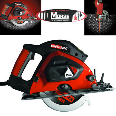 "MK Morse CSM7NXTB Metal Devil 7"" Metal Cutting Circular Saw Kit"