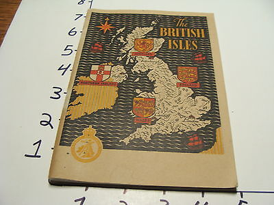 Vintage Tourist paper: the BRITISH ISLES, 1948, 80 PAGES