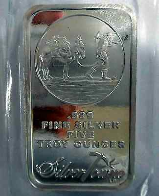 2 x 5 oz SILVER BARS = 10 ozs!   PROSPECTOR ~ NEW & SEALED VINYL ~ FREE SHIPPING