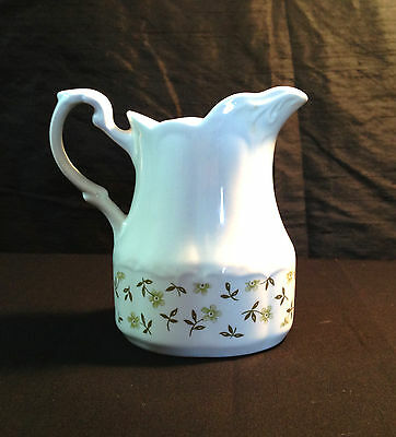 Sterling Colonial English Ironstone Creamer white J & G Meakin England