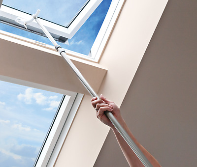 Sunlux Telescopic Control Rod Pole for Skylight Roof Windows & Blinds110-195 cm