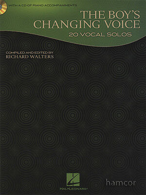 The Boy's Changing Voice 20 Vocal Solos Music Book/CD