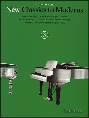 New Classics to Moderns Piano Music Book 3