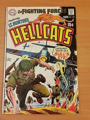 Our Fighting Forces #120 Hellcats! ~ FINE - VERY FINE VF ~ 1969 DC COMICS