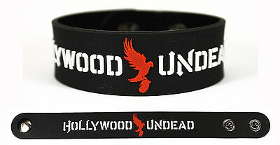 HOLLYWOOD UNDEAD Rubber Bracelet Wristband Notes from the Underground