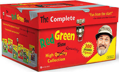 The Complete Red Green Show (DVD, 2012, 50-Disc Set), NEW