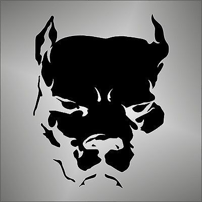 Pitbull PRESPAZIATO NERO - STICKER DECAL ADESIVO VARIOUS MISCELLANEOUS