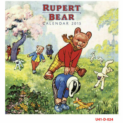 Rupert Bear Wall Calendar 2015 (Art Calendar) Fast Dispatch Brand New Gift Pack