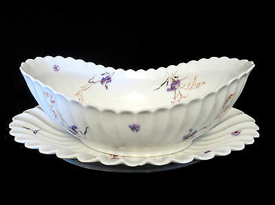 Price reduced 20% to $47.00:  Gorgeous Perfect Haviland Limoges Bowl and Dish