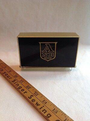 Vintage Bankers Utilities Co. Inc Tray Coin Banks  American National Bank