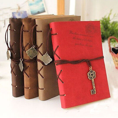320 Pages Retro Vintage Classic Notebook Diary Book Travel Journal