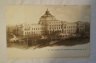 The Library of Congress - Washington D.C. - United States - Vintage - Postcard.