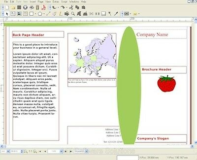Desktop Publisher Software for MS Microsoft 2013 PC MAC NEW Software