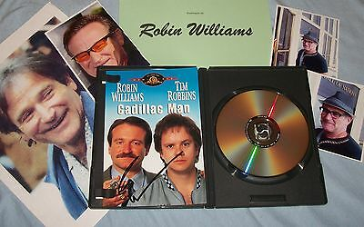 ROBIN WILLIAMS Autographed CD  & Photos - Very Unique