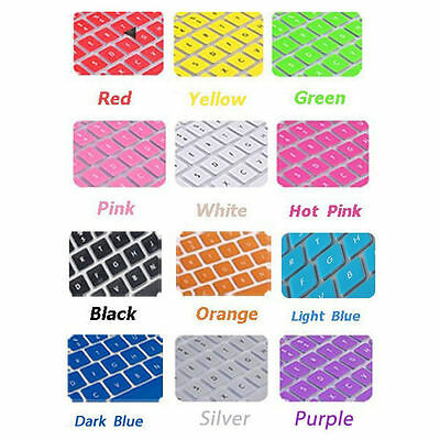 """Soft Keyboard Case Cover Protector for Apple MacBook Pro Air 13.3"""" 15.4"""" Macbook"""