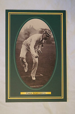 Cricket Collectable Postcard - Hall of Fame Inductee - Fred Spofforth.