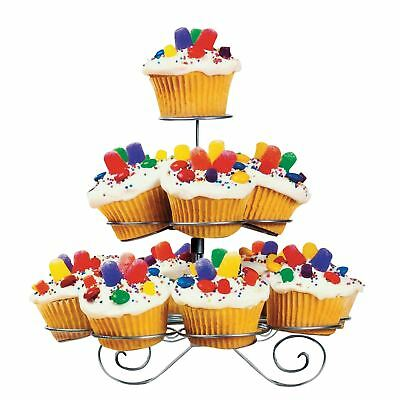 3 Tier 13 Mini Cupcake Party Stand Wedding Birthday Display Metal Muffin Holder
