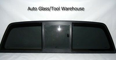Rear Window Back Sliding Glass Fits(Carlite): 04-13 Ford F-150 DB11576 Privacy