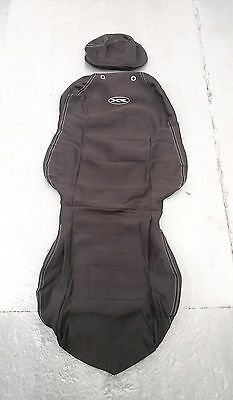 Front Water Proof Seat Cover Set Listing For 2 Suits Ford Ba Bf Xr6 Xr8 Falcon