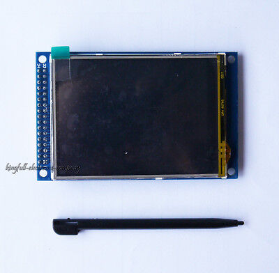 1Pcs 5V 3.2 inch TFT LCD module Display + touch panel SD card 240x320 Hot Sale