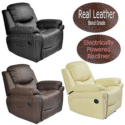 Malaga Massage Heat Luxury Cinema Gaming Lounge Bonded Leather Recliner Chair