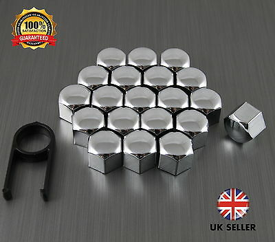 20 Car Bolts Alloy Wheel Nuts Covers 19mm Chrome For  VW Tiguan