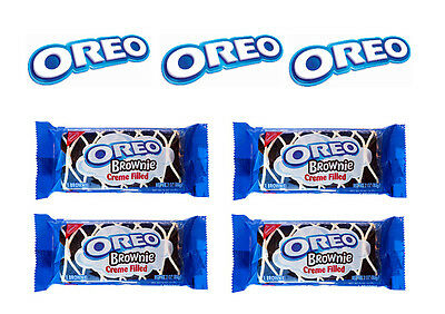 4 x OREO Brownie Creme Filled 3 OZ (85g) American Import