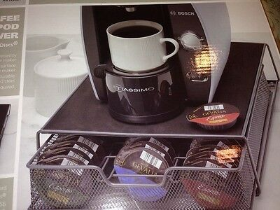 Simple Solutions Coffee Pod Drawer Perfect for T-Disc