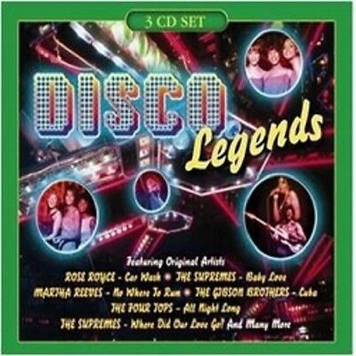 27823 // Disco Legend 4 Compilation Disco  3 Cd 51 Titres Neuf