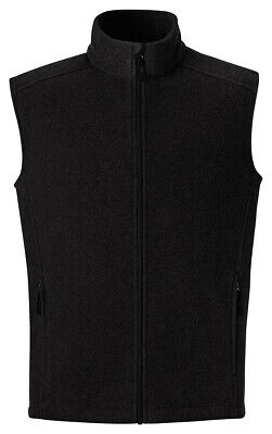 North End Men's Polyester Full Zip Sleeveless Pockets Fleece Vest Jacket. 88191