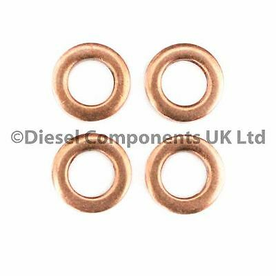 Renault Clio Ii 1.5 Dci Diesel Injector Washers Pack Of 4 (Dcs166)