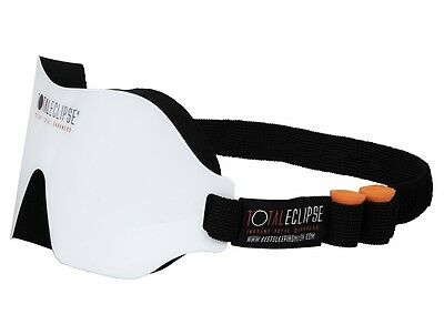 Dream Essentials Total Eclipse Sleep Mask - White