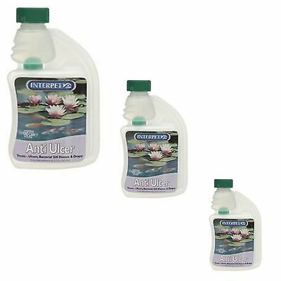 Blagdon Anti Ulcer Dropsy Gill Disease Koi Fish Pond Water Treatment