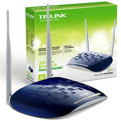 Tp-Link Tl-Wa830Re Access Point Wifi N 300Mbps Range Extender Repeater