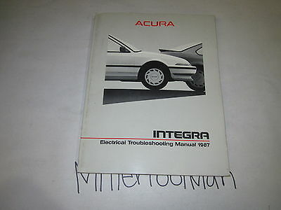 1987 Acura Integra Electrical Troubleshooting Manual