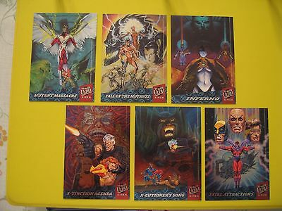 1994 Fleer ULTRA X-Men WAL-MART SILVER X-OVERS SINGLE SET CARDS at $60 PER CARD