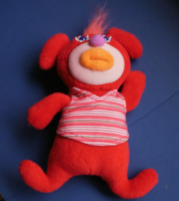 tk~SING-A-MA-JIG~ Red Singing Talking Doll~FISHER-PRICE ~YANKEE DOODLE~Cute!!