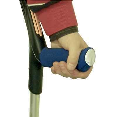 Neoprene Crutch Handle Covers - Pair of Crutch Comfort Grips - Walking Aid