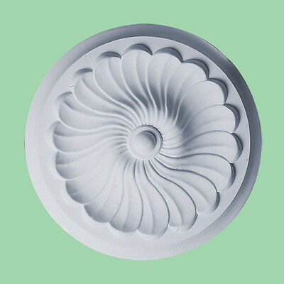 Small Beautiful Ornate white Ceiling rose disk  Decor Victorian Medallion CR5