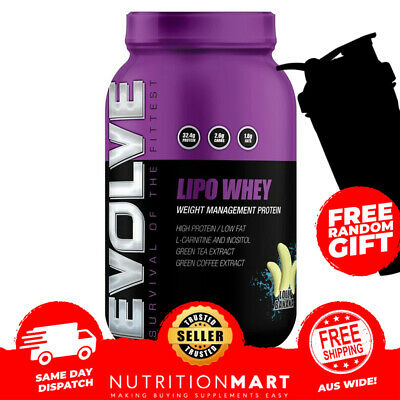 EVOLVE NUTRITION LIPO WHEY THERMOGENIC WHEY PROTEIN - 1.25kg - 31 SERVES