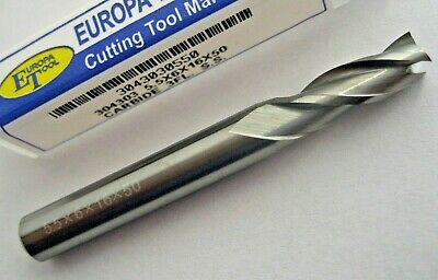 5.5mm SOLID CARBIDE 3 FLUTED SLOT DRILL / END MILL EUROPA TOOL 3043030550  #86