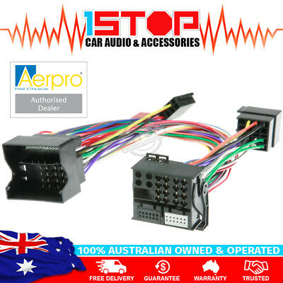 VE COMMODORE T HARNESS for BLUETOOTH HANDSFREE KIT adaptor connector iso wiring