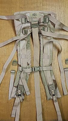 New Desert Camo MOLLE II Shoulder Straps DCU US MILITARY ISSUE Army Backpack