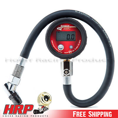 Longacre-Digital Tire/Tyre Pressure Gauge 0-100 PSI w/ Display PN: 53097
