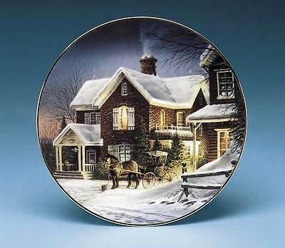 Terry Redlin HOUSE CALL Collector Plate - Country Doctor Series