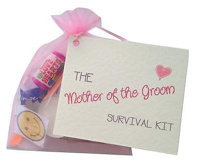 Mother Of The Groom. Thank You gift&card. Novelty wedding gift