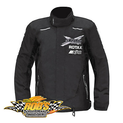 NEW 2015 SKI-DOO MENS X-TEAM WINTER JACKET BLACK SMALL 4406550490