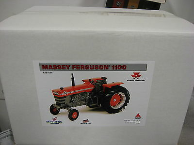 NEW! 1/16 Massey Ferguson 1100 tractor w/ wide front, NICE!, Scale Models in box