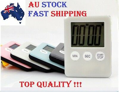 Stylish Electronic Kitchen Digital Lcd Magnetic Countdown Timer Cooking Alarm